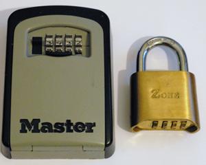Combination lock bypass kit